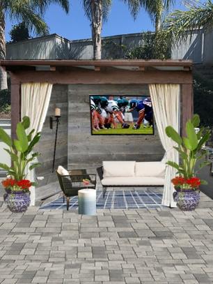 e-Design of cabana area