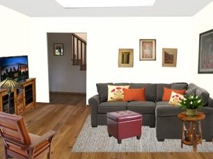 e-Design of the new TV room